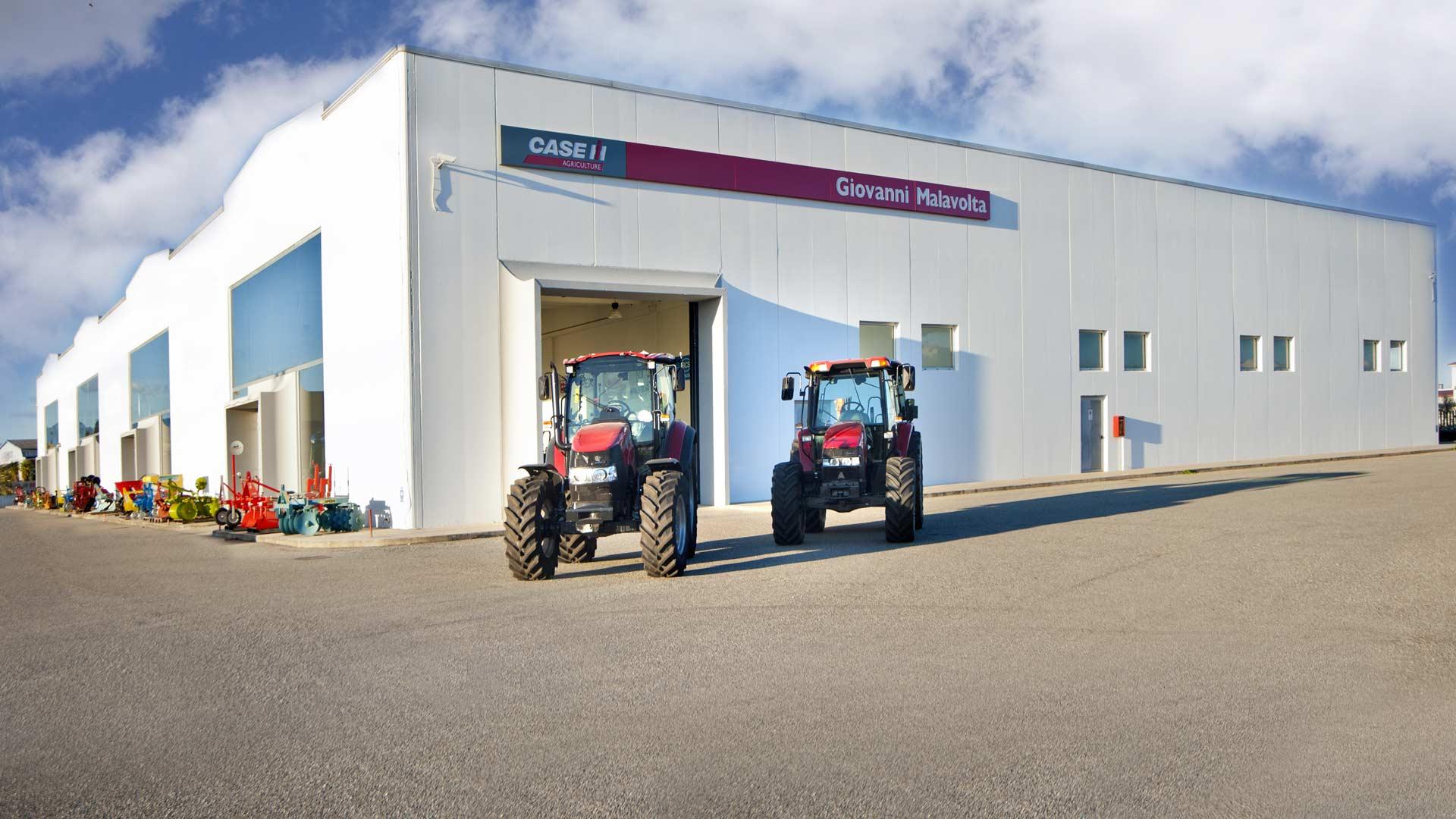 Immagine della concessionaria di trattori malavolta