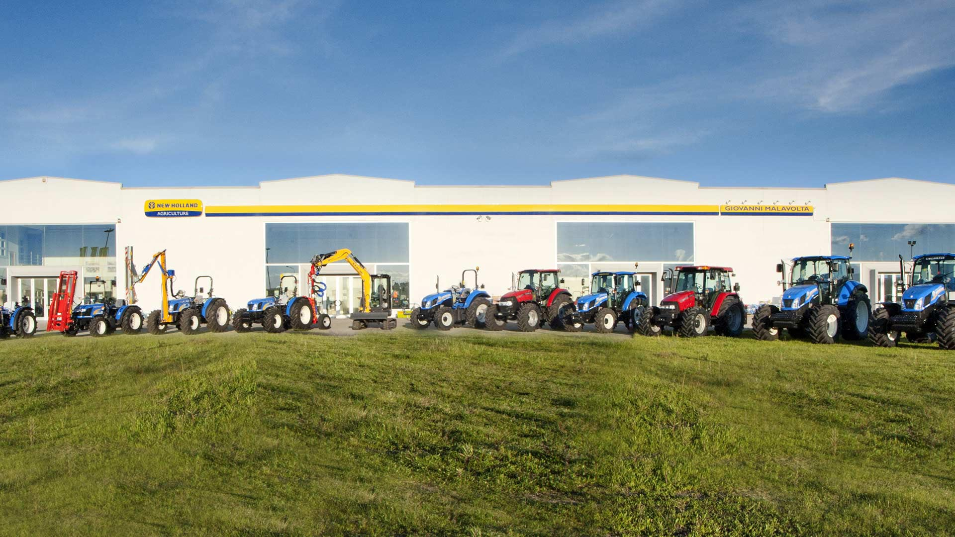 Immagine dei trattori della concessionaria malavolta a Corigliano-Rossano