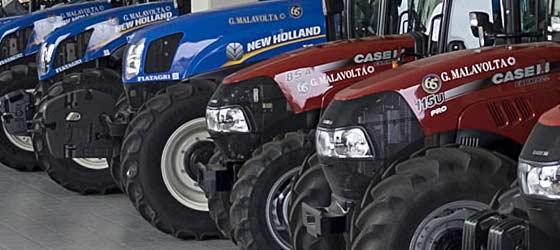 New holland case IH carraro new tractor dealership corigliano cosenza