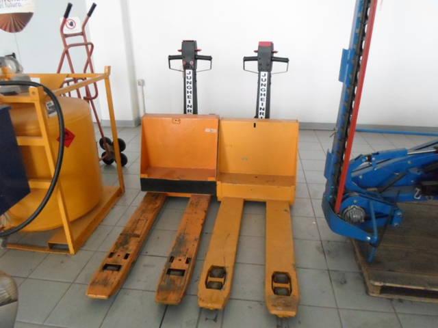 Immagine dell'articolo Transpallet elettrici usati Jungheinrich