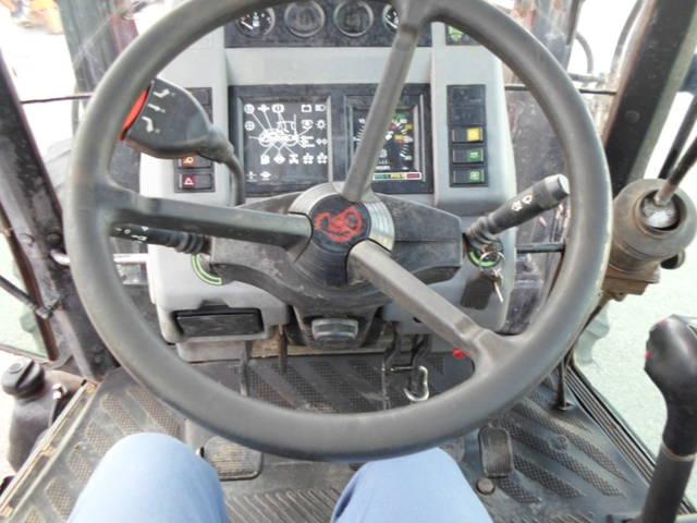 Mismo horario de trabajo del tractor Silver