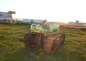 Tractor de orugas agrifull toselli c 80 70 en buen estado mecánico