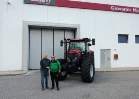 Picture of articleConsegna Case IH Maxxum 150