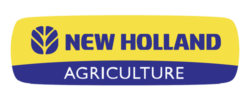 Logo Movimiento de tierra New Holland agriculture