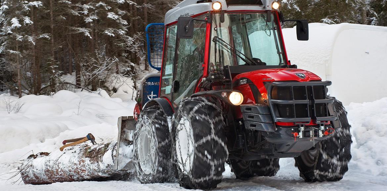 antonio carraro trx9900 sulla neve