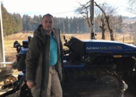 Immagine dell'articolo Consegna New Holland TK 70VA a BLUEBERRY LLC