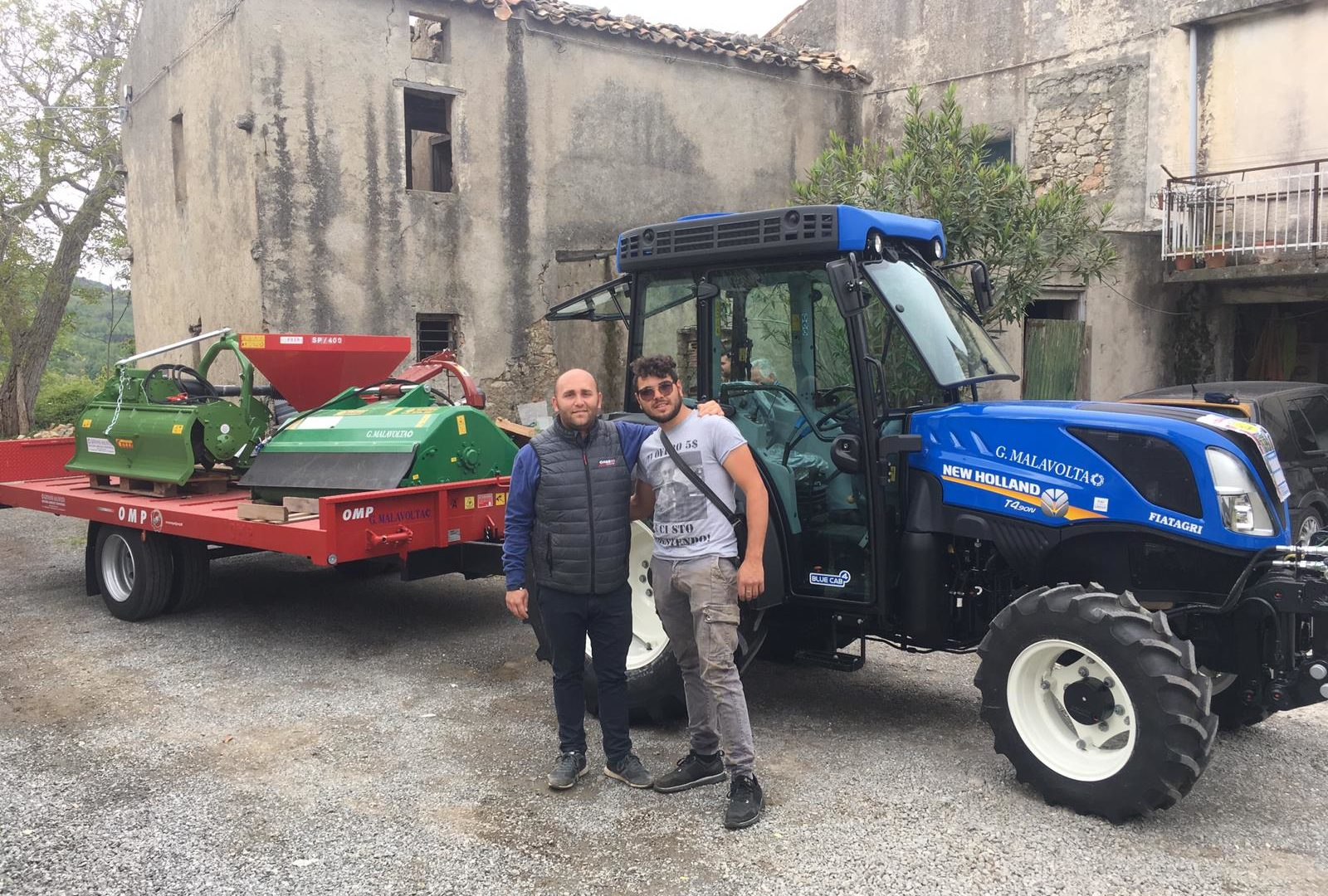 Immagine dell'articolo Consegna New Holland T4 90 N all'azienda agricola  Presta