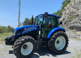 Immagine dell'articolo Consegna New Holland T5 95 all'azienda agricola Silvestri