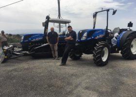 Immagine dell'articolo Consegna trattori New Holland azienda agricola Roseti