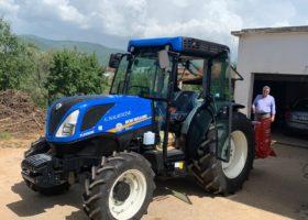 Immagine dell'articolo Consegna trattori New Holland azienda Naccarato