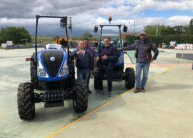 Immagine dell'articolo Consegna trattori New Holland a Full Società agricola
