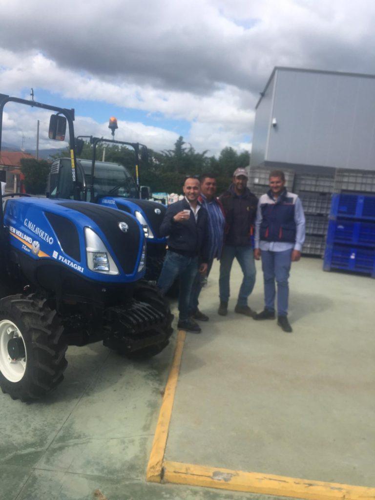 consegna trattori new holland in calabria