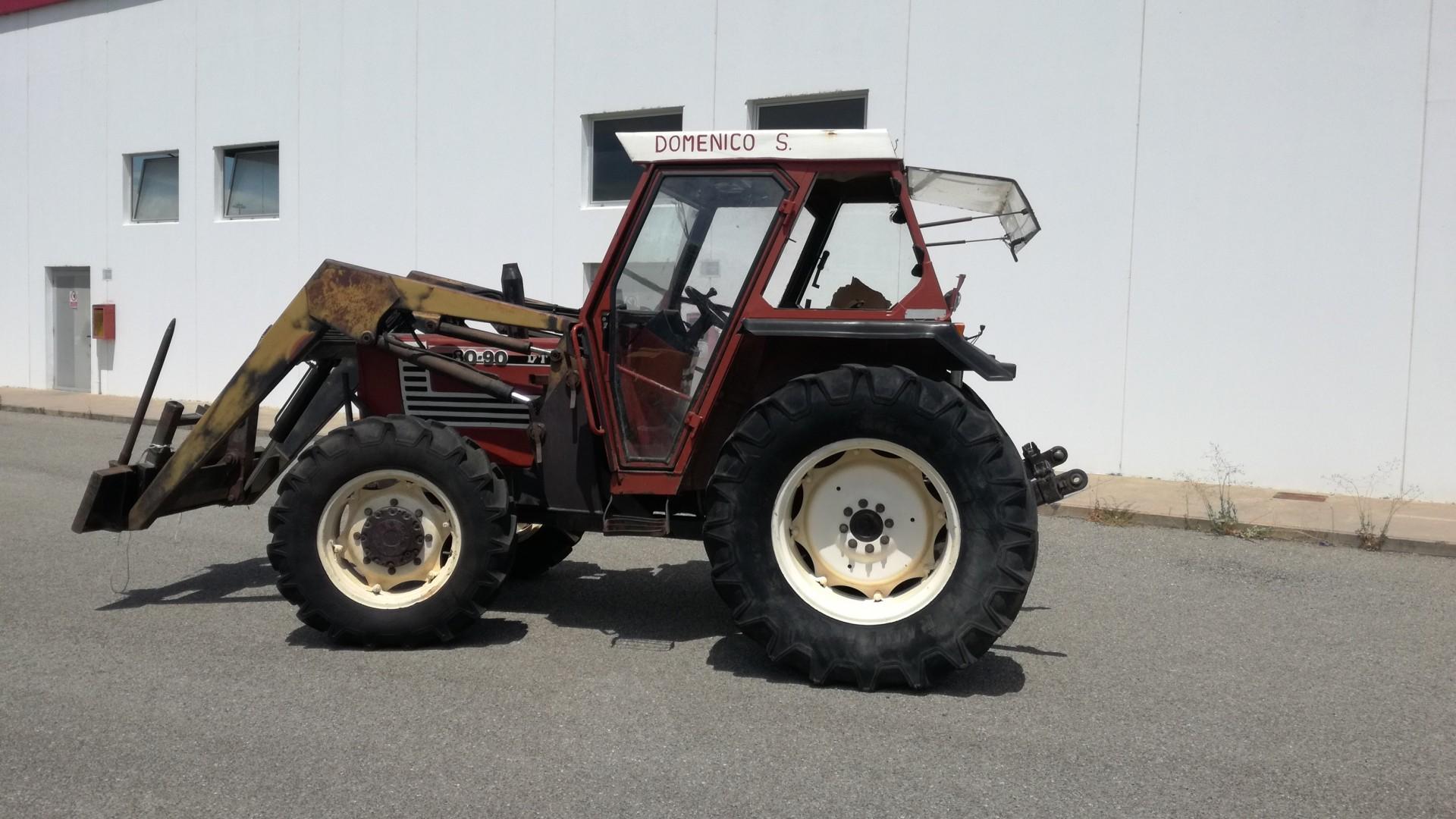 fiat trattori 8090 lato destro