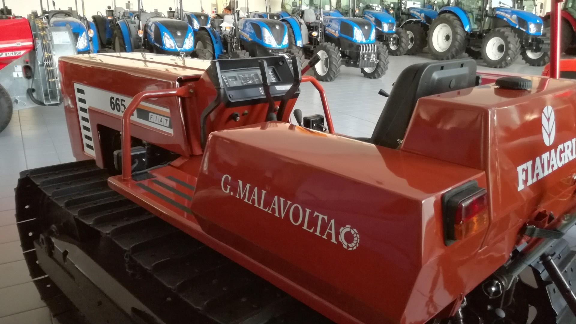 trattore cingolato usato fiat 665 in buono stato