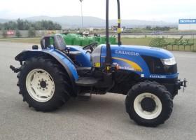 trattore usato new holland td 4040f di profilo