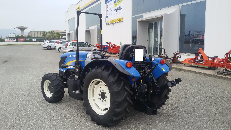 trattore usato new holland td 4040f profilo sinistro