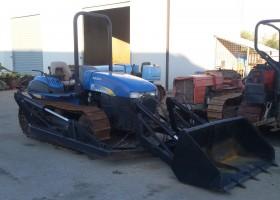 trattore cingolato usato new holland TK80MA