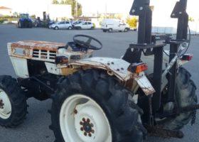 particolare ravvicinato posteriore trattore usato lamborghini r 235 dt