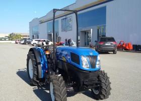 trattore usato new holland t4040n profilo frontale sinistro