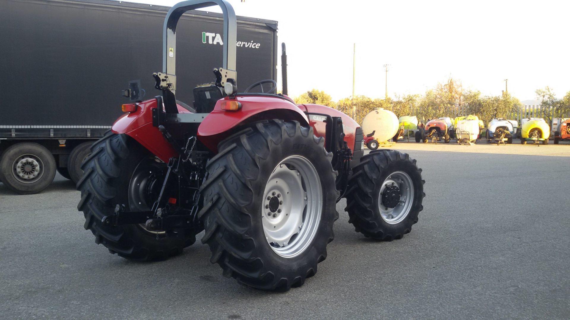 trattore usato case ih jx 95 maxxima profilo destro