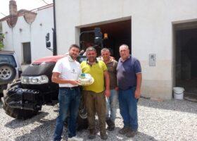 Immagine dell'articolo Consegna trattore Case IH  azienda agricola Oliveto Giuseppe