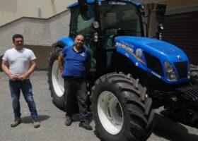 Immagine dell'articolo Consegna trattore New Holland azienda agricola Conforti