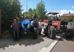 Immagine dell'articolo Consegna trattore New Holland azienda Ruffolo Funghi