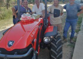 Immagine dell'articolo Consegna trattore Antonio Carraro azienda agricola Oranges