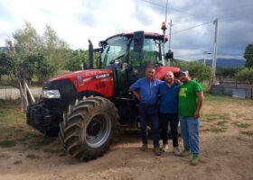 Immagine dell'articolo Consegna trattore Case IH azienda Scarpelli
