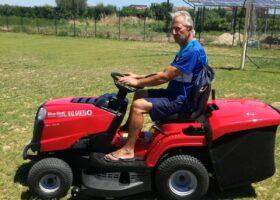 Immagine dell'articolo Consegna trattorino rasaerba all'Academy Corigliano