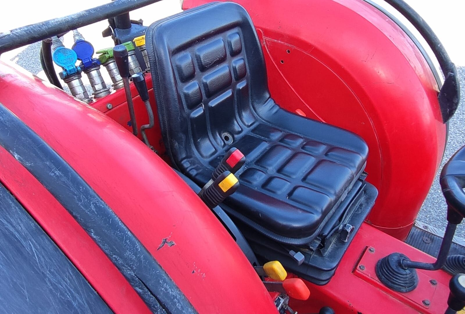 seduta del trattore usato Carraro TGF 9400