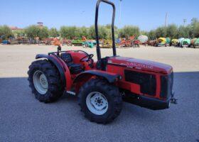 profilo frontale del trattore usato Carraro TGF 9400 del 2007