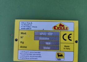 Targhetta Fresatrice Celli SCE 130