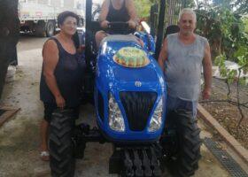 Immagine dell'articolo Consegna trattore New Holland a Stumbo Daniele