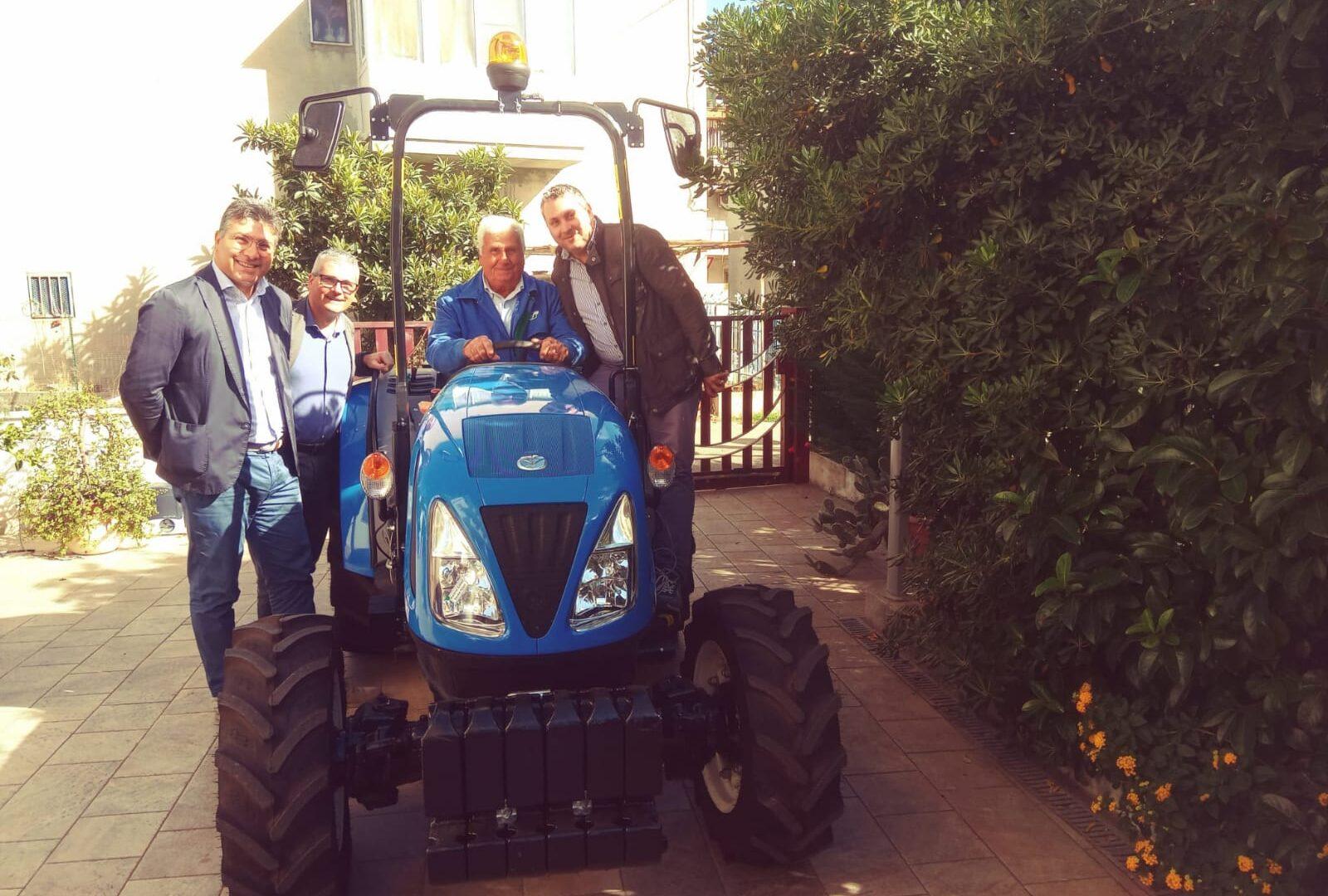 Immagine dell'articolo Consegna trattore New Holland azienda Di Leo