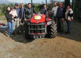Immagine dell'articolo Consegna trattore Antonio Carraro azienda agricola Gaudio