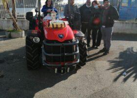 Immagine dell'articolo Consegna trattore Antonio Carraro azienda agricola Acri Salvatore