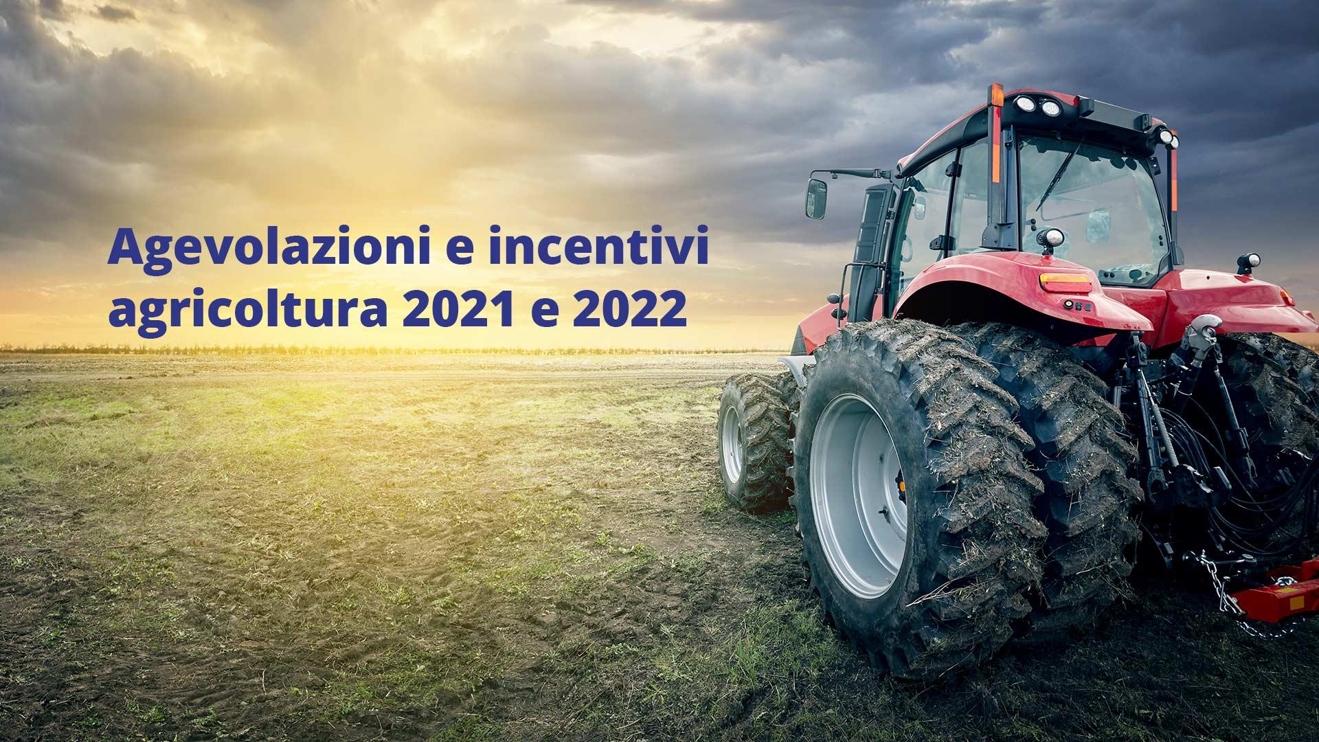 Agevolazioni agricoltura 2021 e 2022 a Corigliano-Rossano