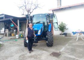 Immagine dell'articolo Consegna trattore New Holland azienda agricola Braile