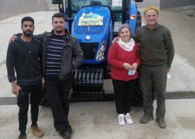 Immagine dell'articolo Consegna trattore New Holland e verricello Krpan azienda agricola Biolegno