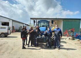 Immagine dell'articolo Consegna trattore New Holland azienda agricola Trezza