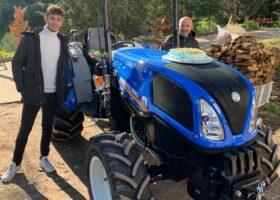 Immagine dell'articolo Consegna trattore New Holland azienda agricola Luci