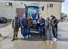 Immagine dell'articolo Consegna trattore New Holland azienda agricola Lindia Raffaele