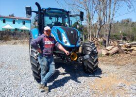 Immagine dell'articolo Consegna trattore New Holland azienda Agricola De Luca Francesco