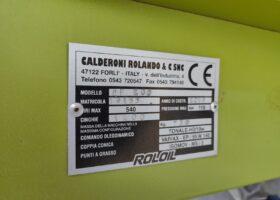 targhetta Trincia nuova Calderoni CP 200